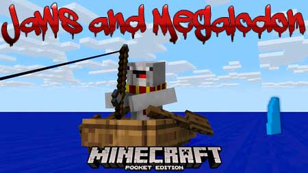 Мод Jaws and Megalodon для Minecraft PE