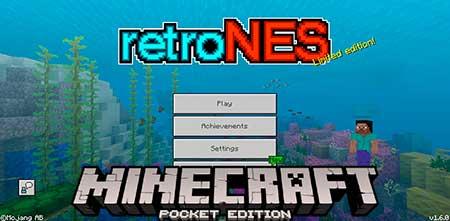 Текстуры Retro NES для Minecraft PE