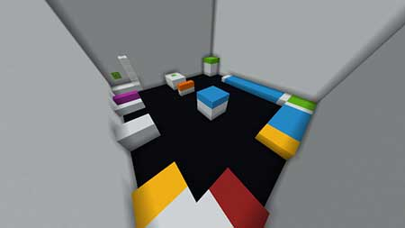 Colour Parkour mcpe 4