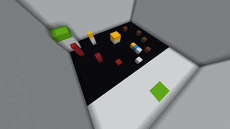 Colour Parkour mcpe 3