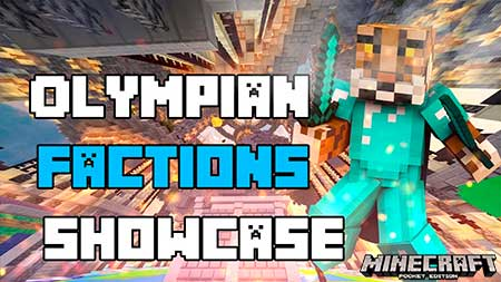 Карта SS Olympian Factions Realm для Minecraft PE