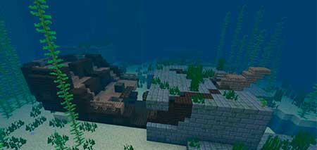 ZooVsYet: Место крушения корабля рядом с крепостью mcpe 2