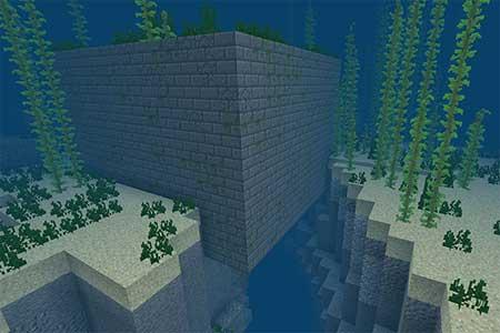 ZooVsYet: Место крушения корабля рядом с крепостью mcpe 3