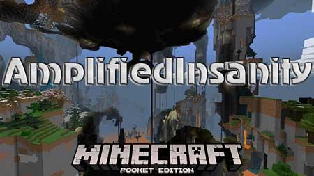 Карта AmplifiedInsanity для Minecraft PE
