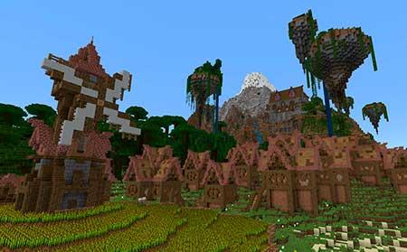 Village of Aphrodite mcpe 2