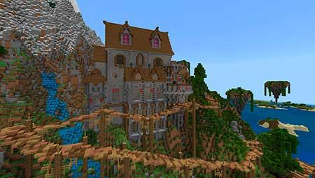 Village of Aphrodite mcpe 3