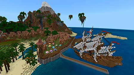 Village of Aphrodite mcpe 1