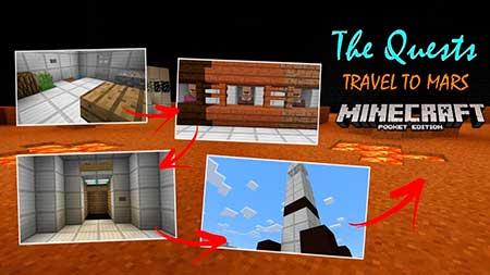 Карта The Quests для Minecraft PE