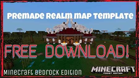 Карта Premade Realm для Minecraft PE