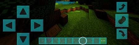 Coloured GUI mcpe 3