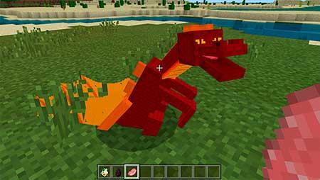 Dragon Mounts mcpe 3