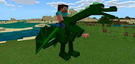 Dragon Mounts mcpe 4