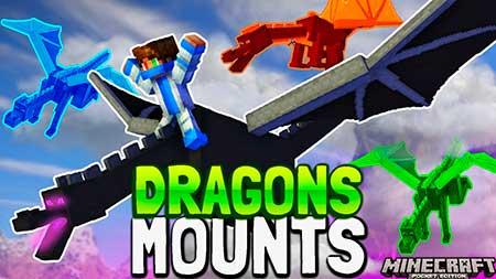 Мод Dragon Mounts для Minecraft PE