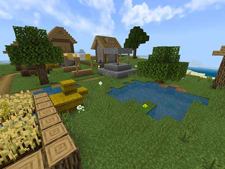 Village & Pillage mcpe 2