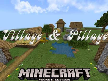 Карта Village & Pillage для Minecraft PE