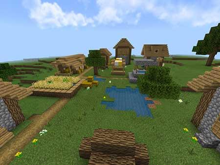 Village & Pillage mcpe 3