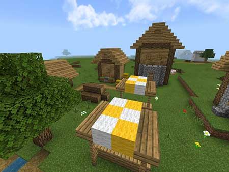Village & Pillage mcpe 1
