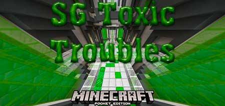 Карта SG Toxic Troubles для Minecraft PE