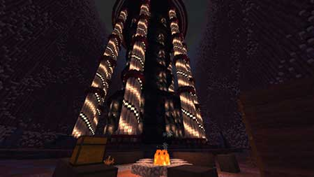 The Tower of the Time mcpe 1