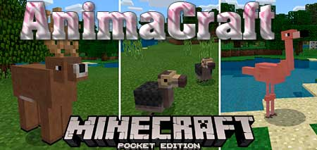 Мод AnimaCraft для Minecraft PE