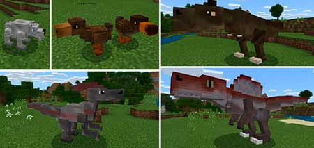 Project Prehistoric mcpe 1