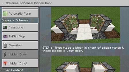 Redstone Guide mcpe 3