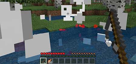 Мод Fishing Hook Bombs для Minecraft PE