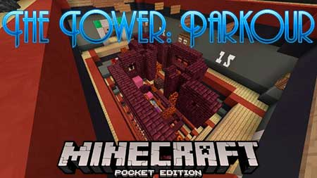 Карта The Tower: Parkour для Minecraft PE
