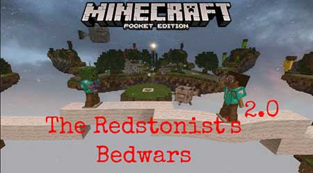 Карта The Redstonist Bedwars для Minecraft PE