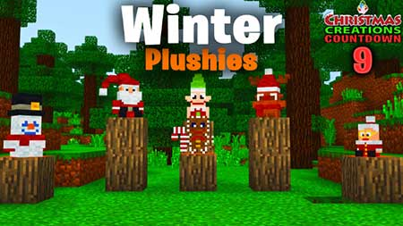 SG Winter Plushies mcpe 3