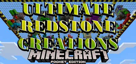 Карта Ultimate Redstone Creations для Minecraft PE