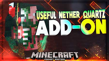 Мод Useful Nether Quartz для Minecraft PE
