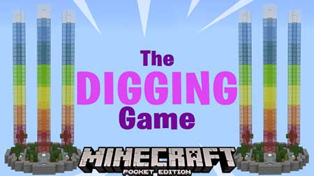 Карта SG The Digging Game для Minecraft PE