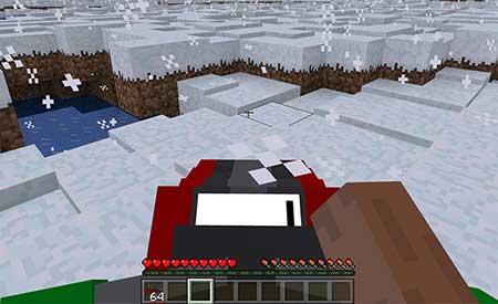 SnowMobile mcpe 3