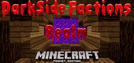 Карта DarkSide Factions Realm для Minecraft PE