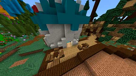 The Smurfs' Village mcpe 6