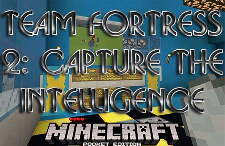 Карта Team Fortress 2: Capture The Intelligence  для Minecraft PE