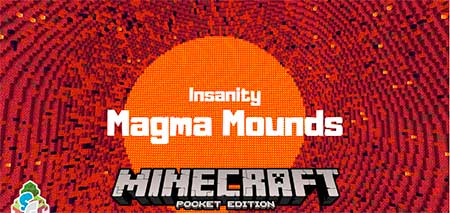 Карта SG Insanity: Magma Mounds для Minecraft PE
