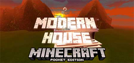 Мод Create A House With A Function Command для Minecraft PE