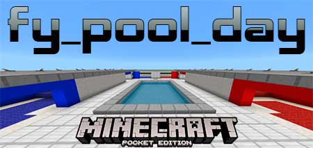 Карта fy_pool_day (Counter Strike) для Minecraft PE