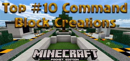 Карта Top #10 Command Block Creations для Minecraft PE