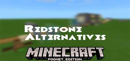 Карта Redstone Alternatives для Minecraft PE