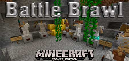 Карта Battle Brawl для Minecraft PE