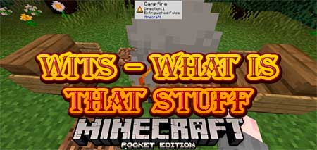 Мод WITS – What Is That Stuff для Minecraft PE