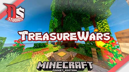 Карта DS : Treasure Wars для Minecraft PE