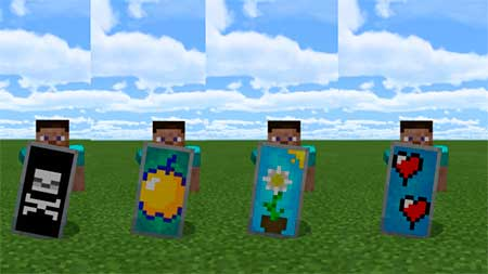Custom Shield Pack 1 mcpe 4