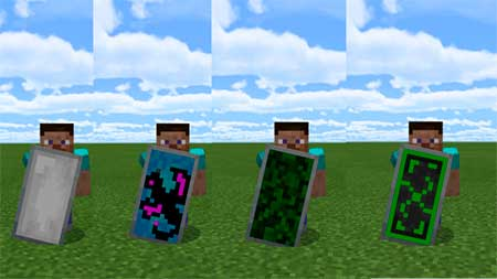 Custom Shield Pack 1 mcpe 3