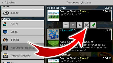 Custom Shield Pack 1 mcpe 1