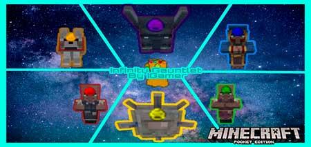 Мод Infinity Gauntlet - Перчатки бесконечности для Minecraft