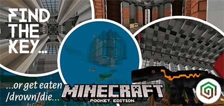 Карта Find the Key or Die для Minecraft PE